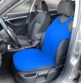 Potah sedadla TRIKO SOFT přední 1ks modrý Compass