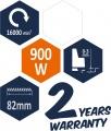 Hoblík elektrický 900 W 16000 ot. 82 mm Vorel