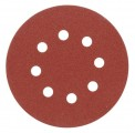 Brusný papír 125 mm P36 s otvory 5 ks suchý zip Vorel
