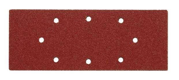 Brusný papír 240 x 93 mm P80 s otvory 5 ks Vorel