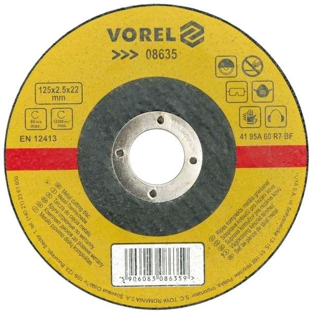 Kotouč na kov 230 x 22 x 1,6 mm Vorel