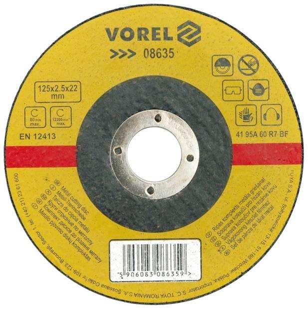 Kotouč na kov 350 x 32 x 3,5 mm Vorel
