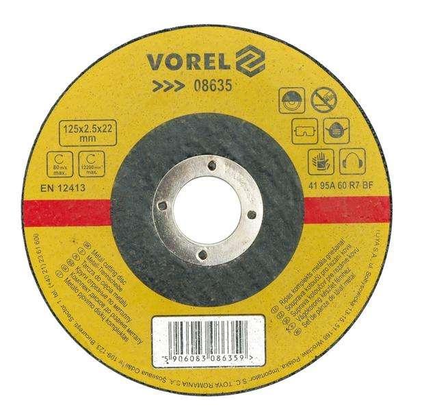 Kotouč na kov 400 x 32 x 4,0 mm Vorel