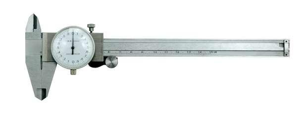 Měřítko posuvné 150 x 0,02 mm ručičkové Vorel