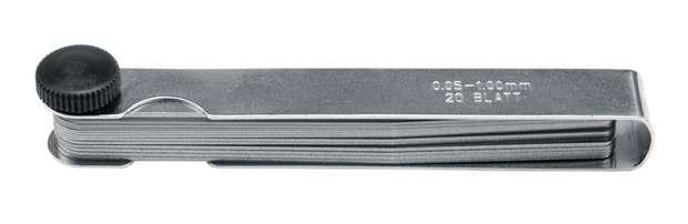 Měrka na spáry 0,05 - 1,00 mm 13 ks Vorel