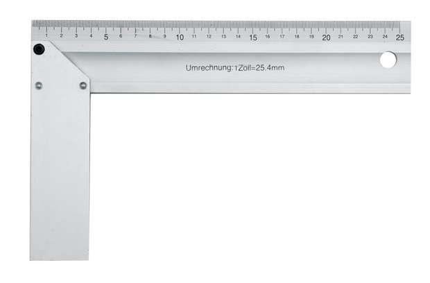 Úhelník truhlářský 250 mm Al Vorel