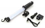 Svítilna montážní 27+7LED nabíjecí 12/220V Li-on 1200mAh Compass