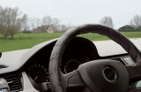 Potah volantu omotávací černý Compass