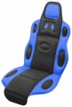 Potah sedadla RACE černo-modrý Compass