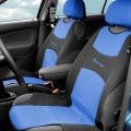 Potah sedadla TRIKO přední 2ks modrý Compass