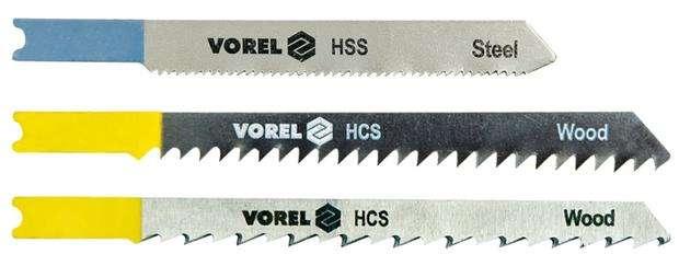 List do přímočaré pily 100 mm na dřevo a plast TPI6 5 ks Vorel