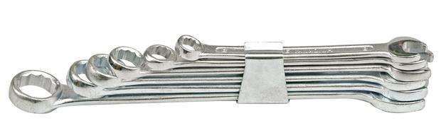 Sada klíčů očkoplochých 8 ks 6 - 19 mm spona Vorel