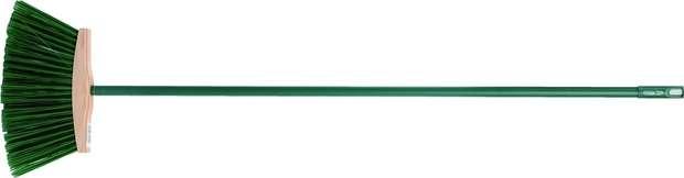 Smeták 250 mm PVC dlouhé štětiny s násadou Vorel