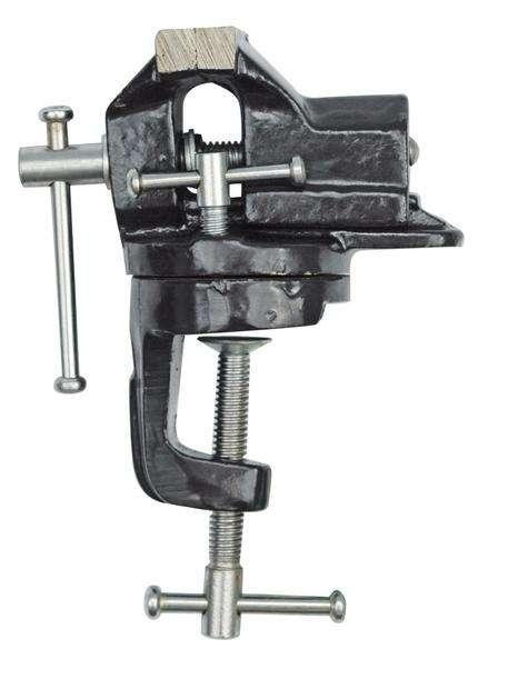 Svěrák stolní 75 mm otočný Vorel