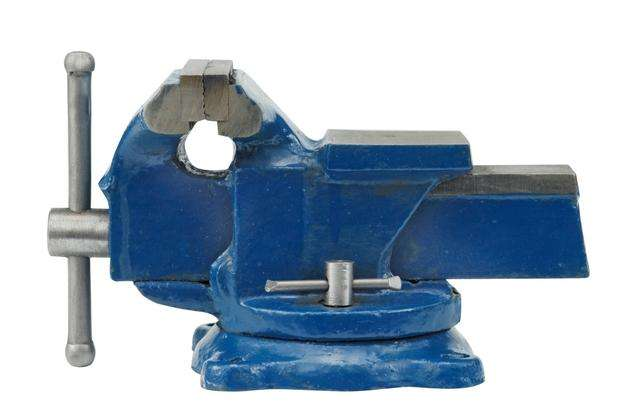 Svěrák zámečnický 125 mm otočný Vorel