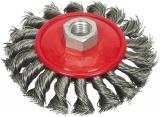 Kartáč drátěný boční 100 mm pletený Vorel