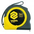 Metr svinovací 7,5 m x 25 mm žluto - černý Vorel