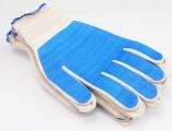 Rukavice pracovní bavlněné potažené PVC 5 párů Vorel
