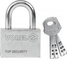 Zámek visací stavební 40 mm 4 klíče Vorel