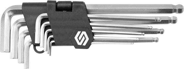 Sada klíčů imbus 9 ks s kuličkou Vorel