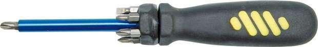 Šroubovák + bity 7 ks magnetický Vorel